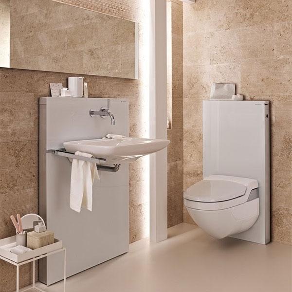 Monolith WC Monolith Waschbecken